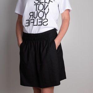 J.crew wool blend skirt w/pockets & side zipper